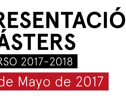 Presentación Másters 2017 – 2018